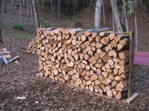Wood Stacking Rack by How To Build A Firewood Rack Cheap And Easy
