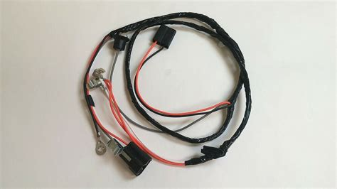 1965 Chevy Impala Ss Console Wiring Harness Manual 4spd 4