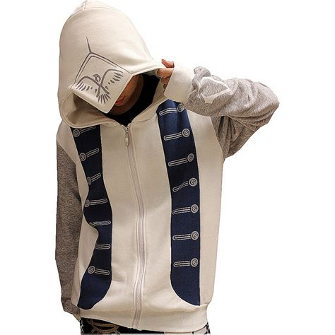 Hoodie Assassins Creed 3 assassin s creed iii hoodie buy cardigan with buttons