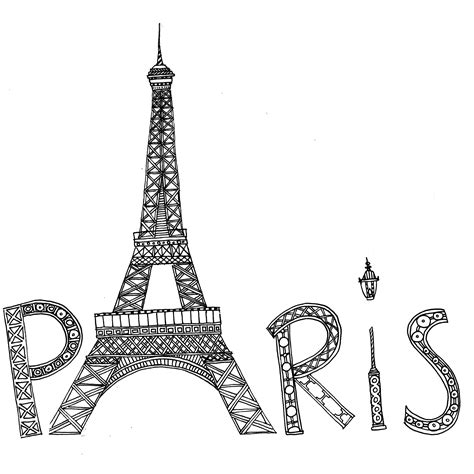 france eiffel tower coloring page captivating eiffel tower coloring pages colorings me