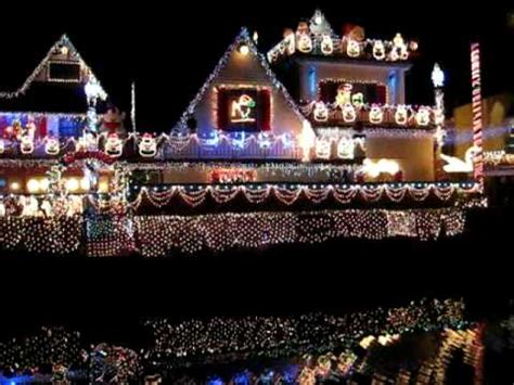 venice canals christmas lights christmas lights at venice canal youtube