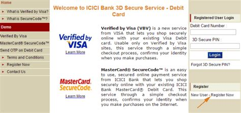 how to activate credit card in icici bank step by step - Icici Bank Gift Card 3d Secure