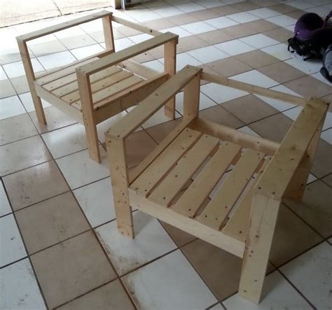 how to build patio chairs how to build a simple diy outdoor patio lounge chair
