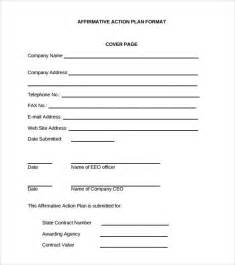 affirmative template affirmative plan template 9 documents