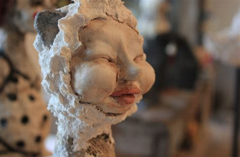 How To Make A Paper Mache Statue - pulp paper sculpture the carving studio sculpture center