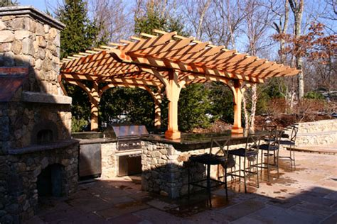 Backyard Gates For Sale Outdoor Kitchen Pergola No Kp1 By Trellis Structures