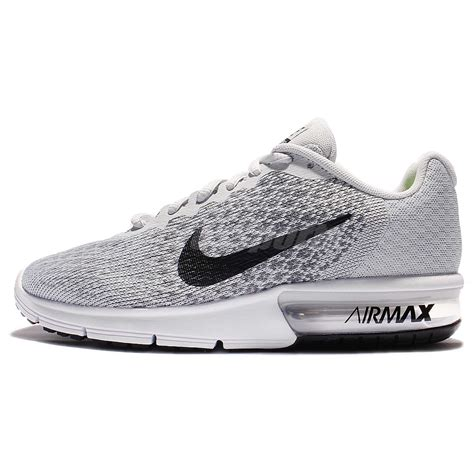 Nike Air Max Sequent 2 Black 852461005 1 wmns nike air max sequent 2 ii grey black running shoes sneaker 852465 001 ebay