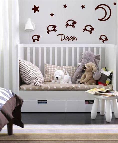 Wall Sticker For Baby Room wandtattoo aufkleber geburt baby schaf walldesign56