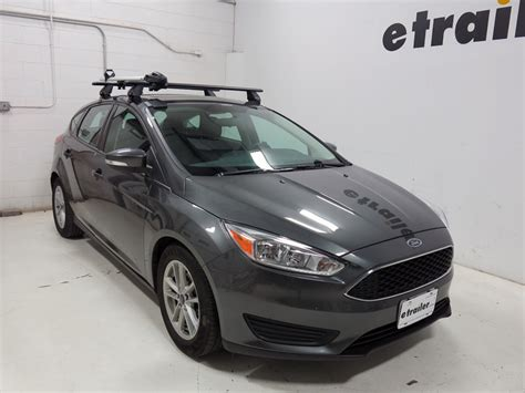 roof rack for ford focus hatchback roof rack for ford focus 2013 ford focus thule thruride