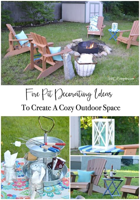 Diy Backyard Pit Ideas All The Accessories You Ll Need Diy Network Made Remade Create A Cozy Outdoor Space 6 Must Pit Decorating Ideas H20bungalow