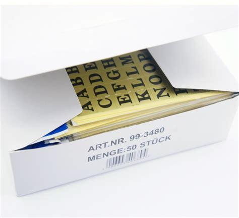 Aufkleber Mit Goldfolie by Aixstore 250 Selbstklebeetiketten Aufkleber Buchstaben