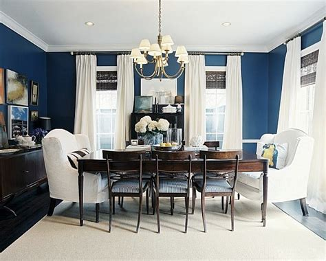 Ants In Kitchen Cabinets by Dining Out In Your New Navy Blue Dining Room