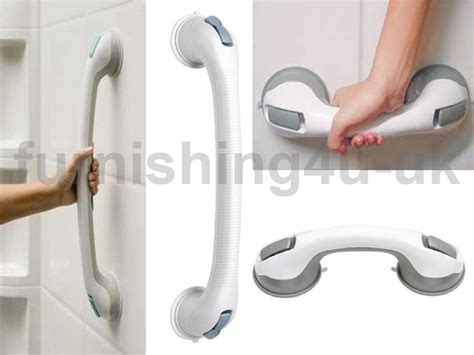 Bathroom Grab Handles Support Grab Handle Suction Cup Grab Bath Shower