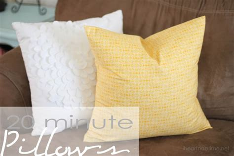 Sewing Pillow by How To Sew A Pillowcase In 20 Minutes I Nap Time