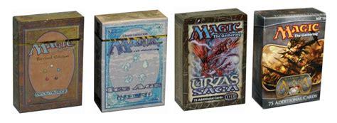 magic the gathering starter decks file starter decks and tournament packs jpg mtg wiki