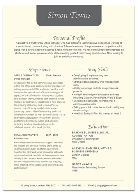 fancy design microsoft office resume 28 images