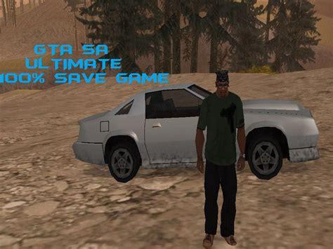 gta san andreas save game mod gtainside com gta san andreas ultimate 100 save game mod gtainside com