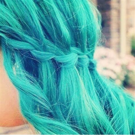 aqua hair color aqua hair for
