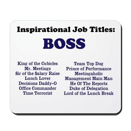 Unique Monogrammed Wedding Gifts Man Boss Funny Job Titles Amp Names Mousepad By 9to5celebrity