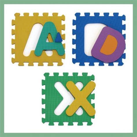 tappeto puzzle atossico per bambini alfabeto lilnap
