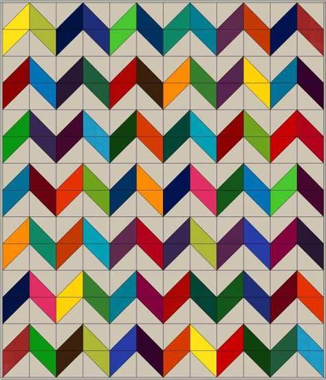 zig zag quilt block pattern 185 best chevron zigzag quilts images on pinterest