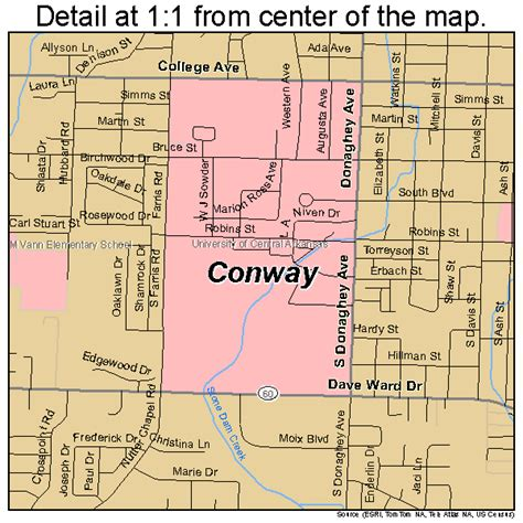us map conway arkansas conway arkansas map 0515190