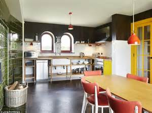 Kitchen Island With Chairs Inside Grayson Perry S Gingerbread House Daily Mail Online