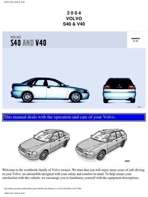 download car manuals pdf free 2001 volvo s40 navigation system service manual 2004 volvo v40 cool start manual volvo s40 v50 repair manual 2004 2007 haynes