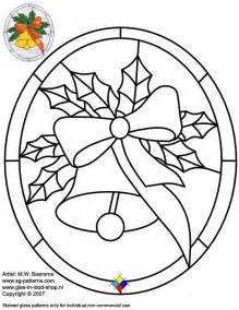 stained glass patterns free glass pattern 054 christmas