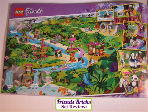 Friends Bricks   Jungle Bridge Rescue Review