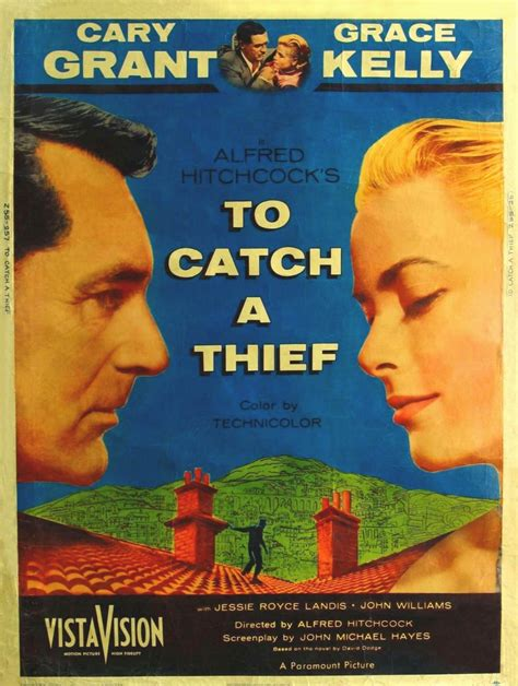To Catch A Thief by Hitchcock Series To Catch A Thief Warner Library