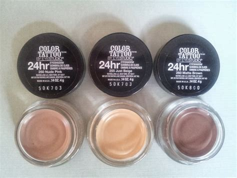 maybelline color tattoo just beige new maybelline color shades in pink just