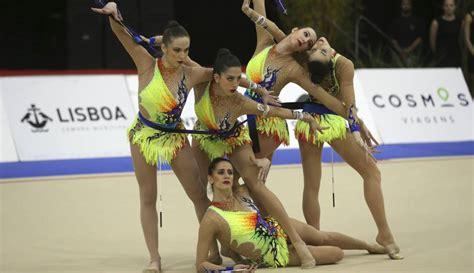 vestidos de gimnasia rtmica en los juegos infantiles oysho vestir 225 a la selecci 243 n espa 241 ola de r 237 tmica en los