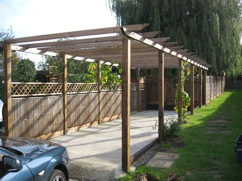 Pergola Carport How To Build A Pitched Pergola Wooden Plans Do It Yourself