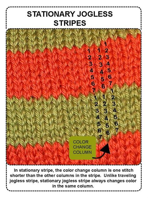 jogless stripes knitting 17 best images about knitting stripes on