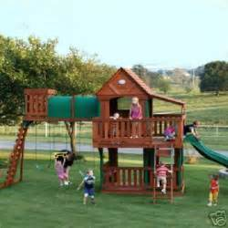 Wooden Playground Sets Access Wood Plans For Swing Sets Gurawood