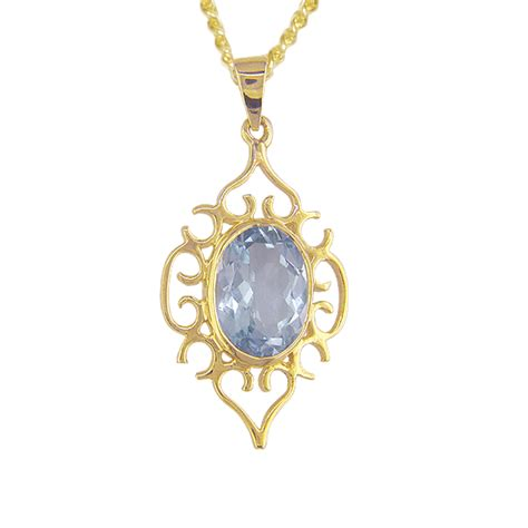 pendant 9ct 1405 blue topaz from shipton and co uk