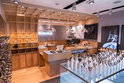 nixon store by checkland kindleysides new york city