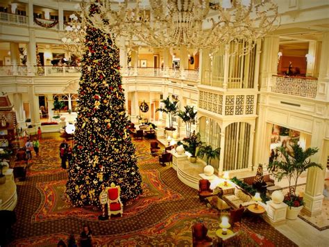 grand floridian christmas tree 12 best florida hotels to visit this tripstodiscover