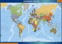 Mapa Mundi  Netmaps Mapas Digitales Dise&241o Gr&225fico 45660