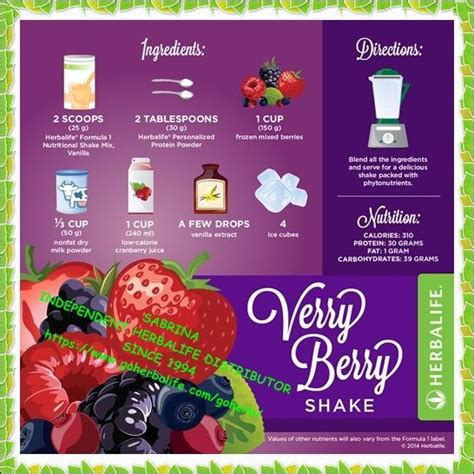 1 protein shake a day herbalife formula 1 and different recipes on