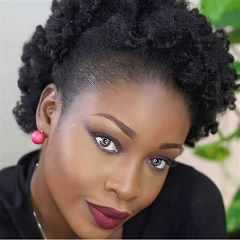 Hairstyles For Black With No Edges by Quelle Coiffure Avec Mes Cheveux Cr 233 Pus Sa Ka Fet Matinik
