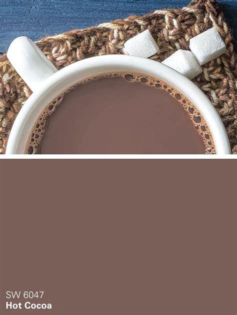 cocoa color sherwin williams brown paint color cocoa sw 6047