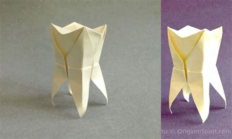 Origami Teeth - 10 toothy s day crafts free printables included