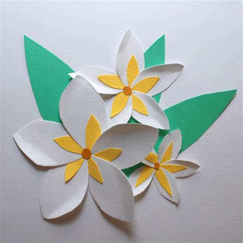 How To Make Paper Hawaiian Flowers - tropical paper flowers i this website