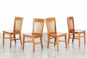 Antique Oak Dining Room Chairs Set Of 4 Antique Oak Dining Chairs Vintage Supply Store