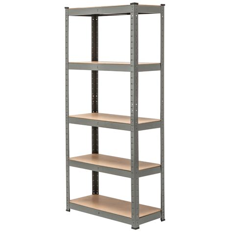 5 Tier Shelf Unit by 5 Tier Heavy Duty Boltless Metal Shelving Storage Unit
