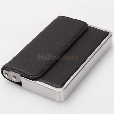 credit card sleeve template mens wallet business id card holder stainless steel