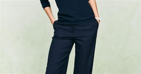Stylish Slouchy Trousers by Via Next Navy Slouch Minimal Fashion My Style