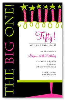 fiftieth birthday invitation ideas celebrating 50th birthday invitations invitations